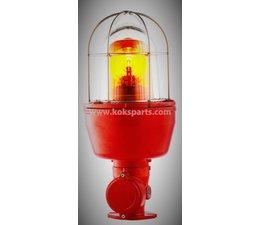 KO100586 - Flitslamp, kleur: Oranje ATEX