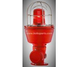 KO100587 - Flitslamp. Kleur: Rood ATEX