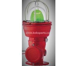 KO100588 - Signaallamp, kleur: Groen ATEX