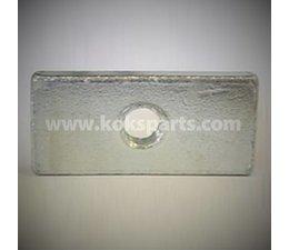 KO101082 - Zij-afscherming montageset tegenstuk