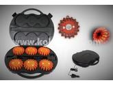 KO110929 - KOKS Flare-set Rot (6 Stück)