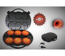 KO110929 - KOKS Flare-set ROOD(6stuks)