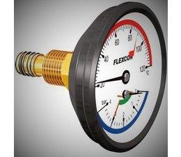 """KO110660 - Thermo/Manometer 1/2"""""""