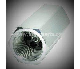 """KO105252 - Slangbreukbeveiliging. Aansluiting: 1/2"""". Doorlaat: 45ltr/min t.b.v. deksel cilinder"""