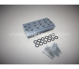 "KO105511 - Manifold t.b.v. 4 pneumatiek ventielen. Aansluiting: 1/8"""