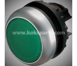 KO103318 - Drukknop. Type: M22-DL-Groen