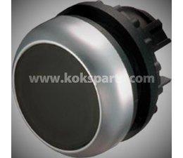 KO103317 - Drukknop. Type: M22-D-S zwart