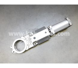 KO100606 - Mesafsluiter. Type: DN150 ATEX. Bediening: Pneumatisch bediend