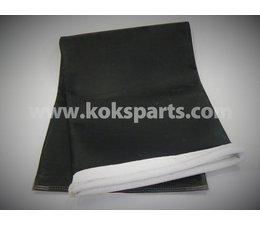 KO100109 - Filterzakken. Afmeting: 1255 x 465mm.