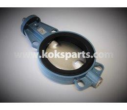 KO103137 - Vlinderklep. Type: Z011. Aansluiting: DN200 Siliconen. Maat: VK. 16