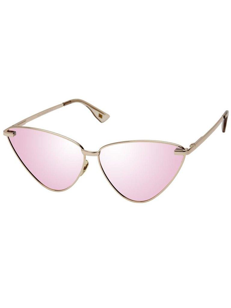 Le Specs Luxe Le Specs Luxe Nero zonnebril rose