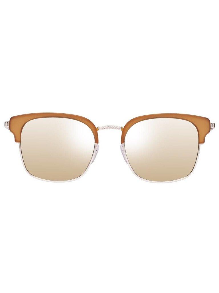 Le Specs Luxe Le Specs Luxe Katoch zonnebril mat oker
