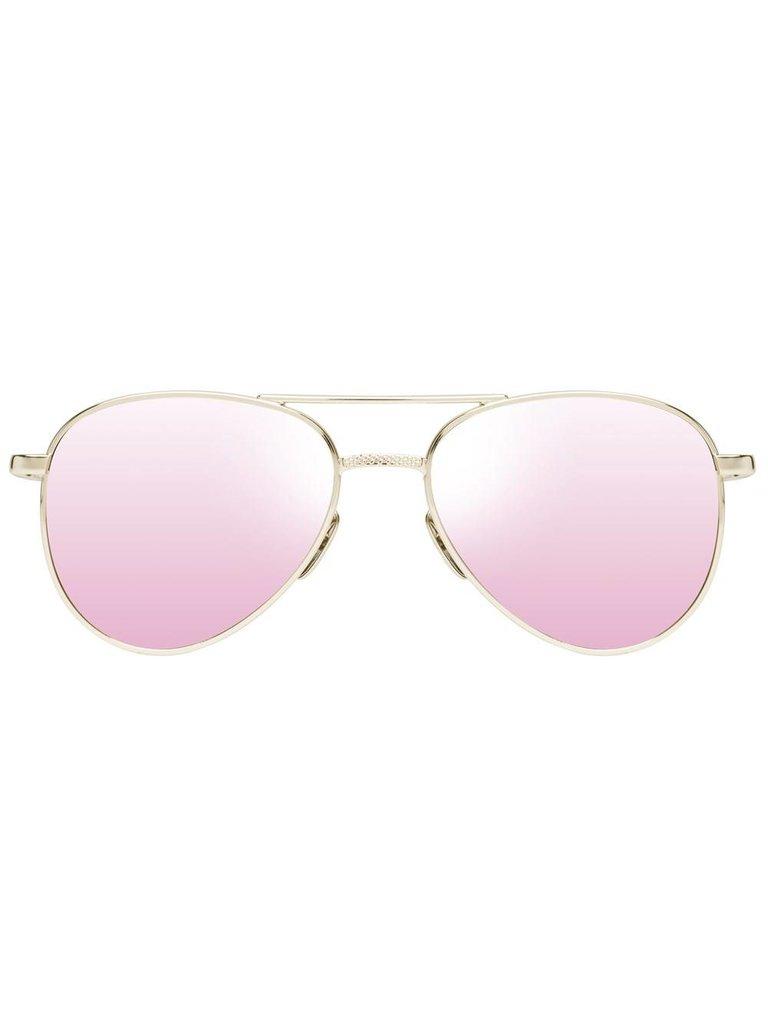 Le Specs Luxe Le Specs Luxe Imperium zonnebril goud
