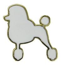 Godert.Me Godert.me Parisian Poodle pin white gold