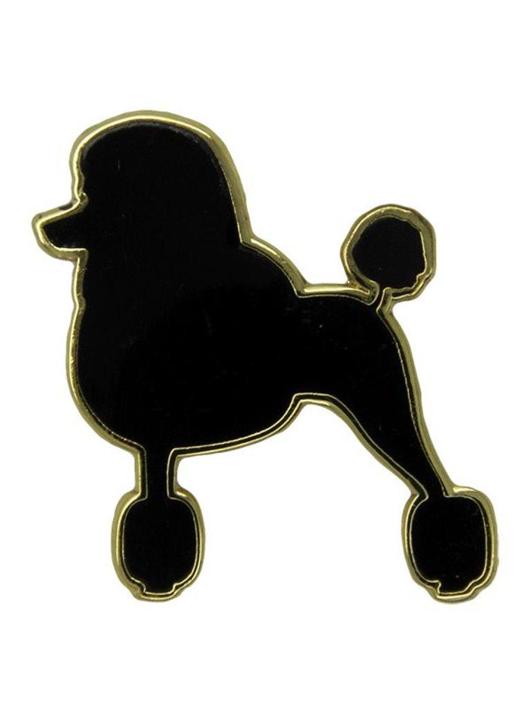 Godert.Me Godert.me Parisian Poodle Pin schwarz gold