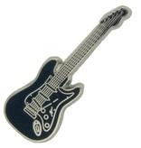 Godert.Me Godert.me Guitar pin donkerblauw zilver