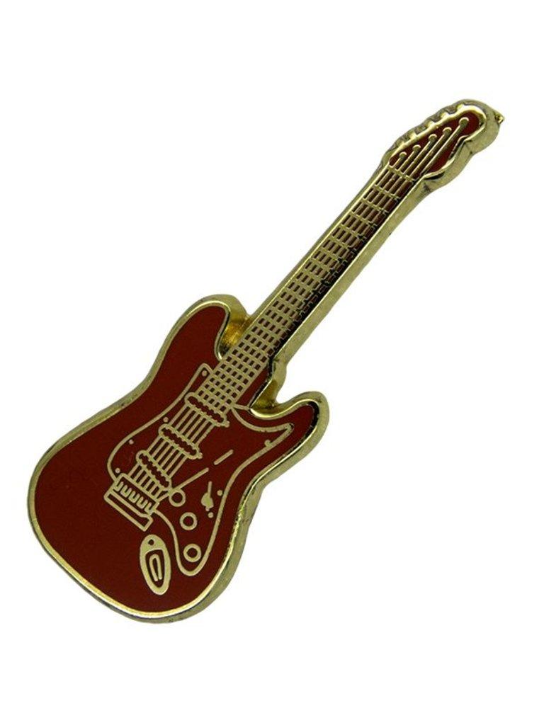 Godert.Me Godert.me Guitar pin rood goud