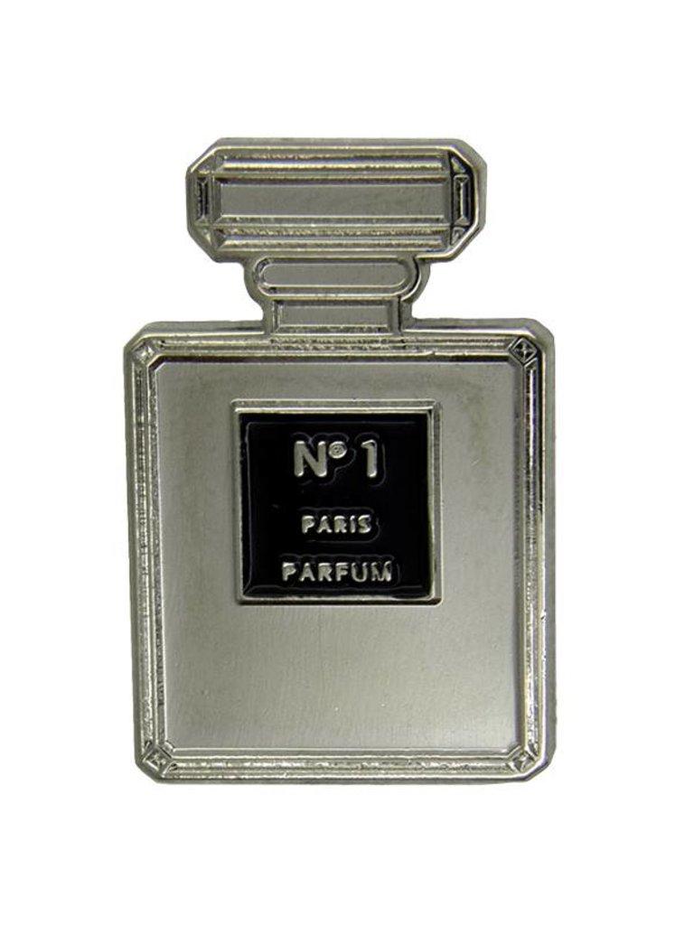 Godert.Me Godert.me Perfume pin zwart zilver