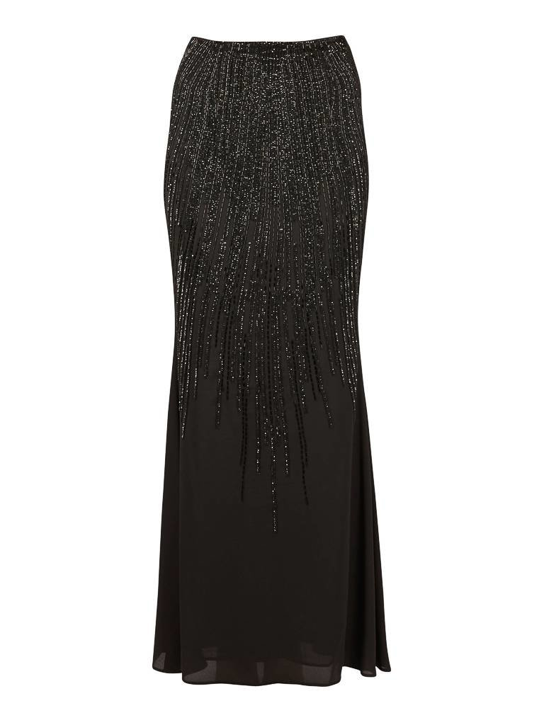 Elisabetta Franchi Elisabetta Franchi Maxi skirt with sequins black
