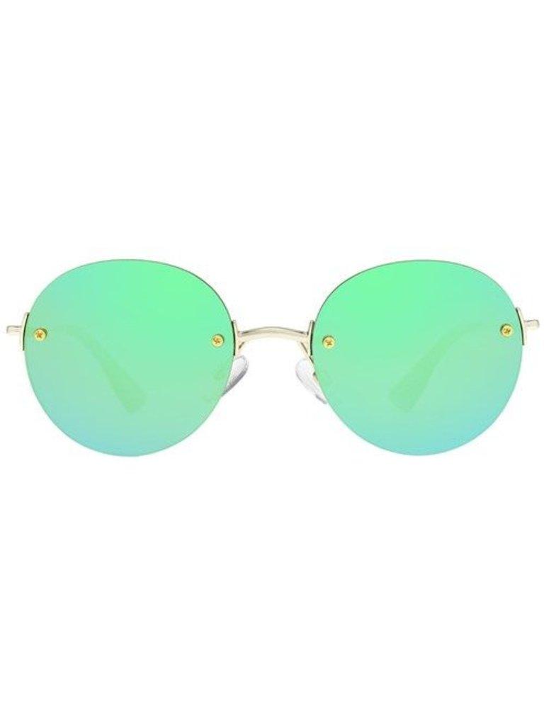Le Specs Le Specs Bodoozle zonnebril goud