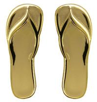Godert.Me Godert.me Flip flop slippers golden pin