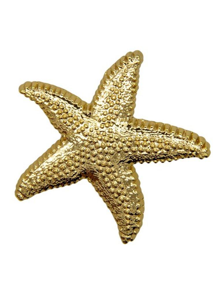 Godert.Me Godert.me Starfish pin goud