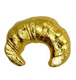Godert.Me Godert.me Croissant pin gold shine