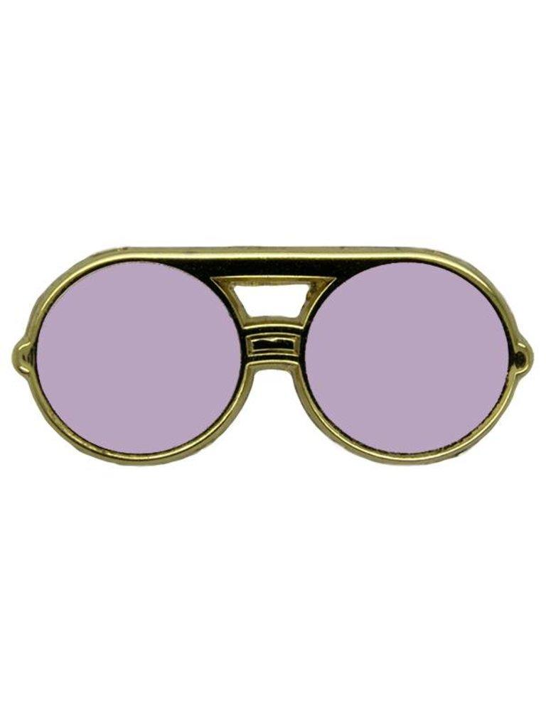 Godert.Me Godert.me Sunglasses round pin roze