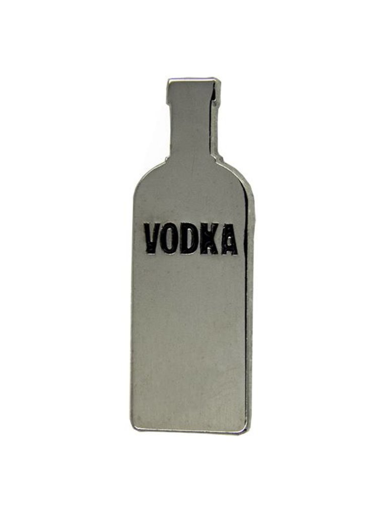 Godert.me Vodka pin zilver