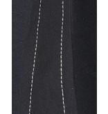 Áeron Áeron Abgeschnitten Flair Hose mit Gürtel schwarz