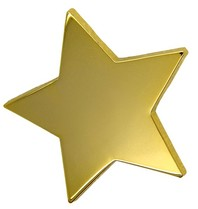 Godert.Me Godert.Me Big star pin goud