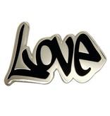 Godert.Me Godert.me Love graphity pin zilver
