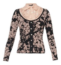 Elisabetta Franchi Elisabetta Franchi knitted top with flower details
