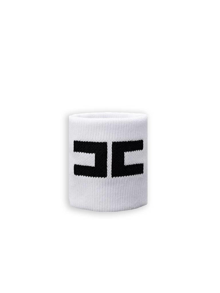 Elisabetta Franchi Sportband wit met zwart
