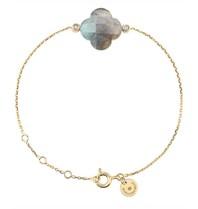 Morganne Bello Morganne Bello bracelet with labradorite stone diamond