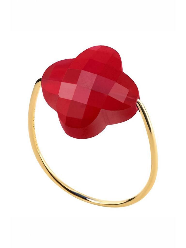 Morganne Bello Morganne Bello ring quartz red
