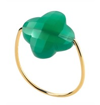 Morganne Bello Morganne Bello ring agaat groen