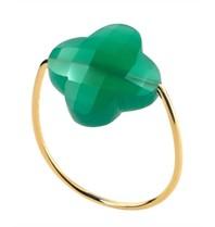 Morganne Bello ring agaat groen