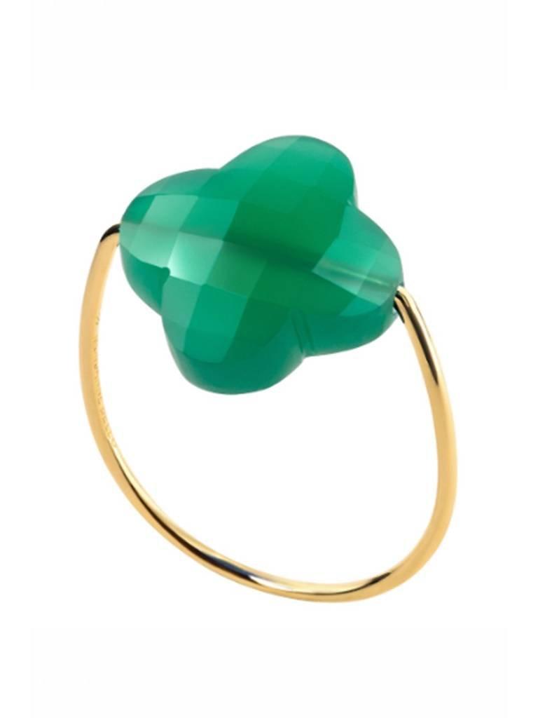 Morganne Bello Morganne Bello ring agate green