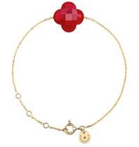 Morganne Bello Morganne Bello Armband mit rotem Quarzstein