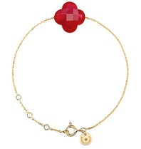 Morganne Bello Morganne Bello bracelet with red quartz stone