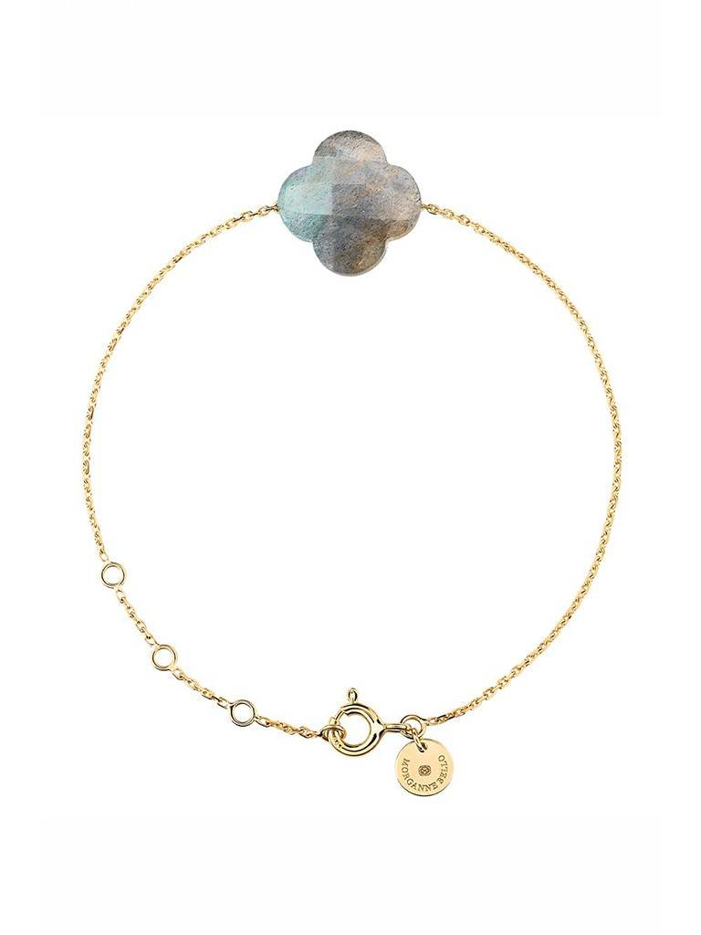 Morganne Bello Morganne Bello armband met labradoriet steen