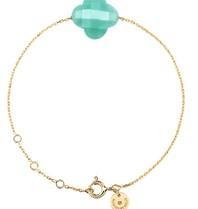Morganne Bello armband met amazoniet steen