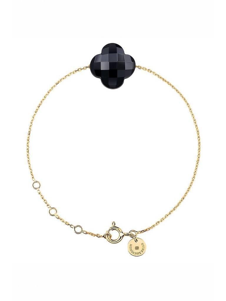 Morganne Bello Morganne Bello armband met onyx steen