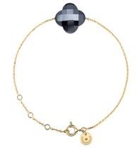Morganne Bello Morganne Bello armband met hematiet steen