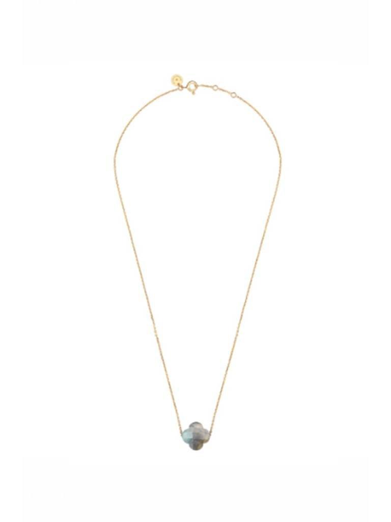 Morganne Bello Morganne Bello necklace with labradorite stone