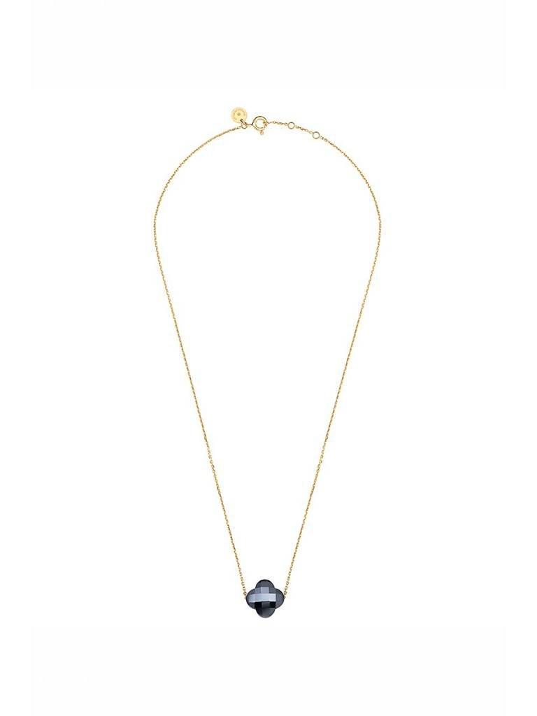 Morganne Bello Morganne Bello necklace with hematite stone