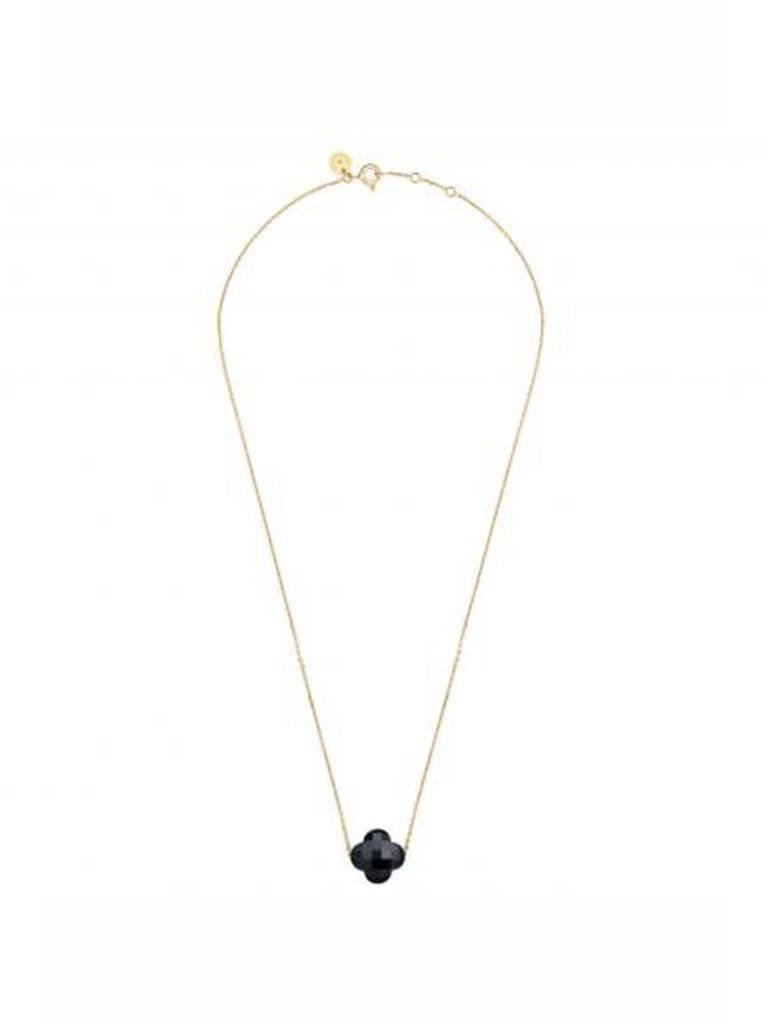 Morganne Bello Morganne Bello necklace with onyx stone