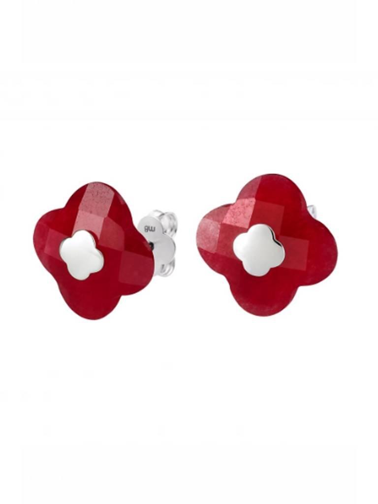 Morganne Bello Morganne Bello earrings red quartz