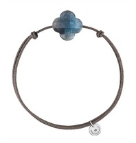 Morganne Bello Morganne Bello cord bracelet with labradorite
